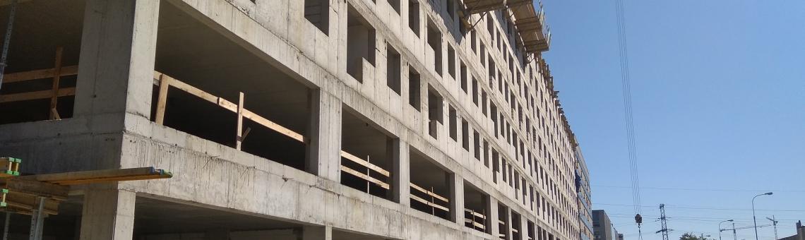 Postęp prac budowlanych Legnicka Street II – Październik 2018