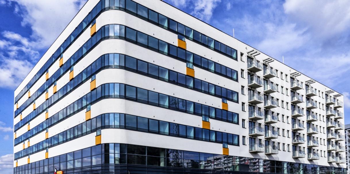 Legnicka Street we Wrocławiu – kompleks biurowo-apartamentowy